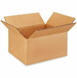 200 8x6x4 Cardboard Paper Boxes Mailing Packing Shipping Box Corrugated Carton