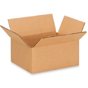 50 7x5x3 Cardboard Paper Boxes Mailing Packing Shipping Box Corrugated Carton
