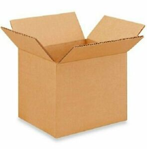 50 6x5x5 Cardboard Paper Boxes Mailing Packing Shipping Box Corrugated Carton