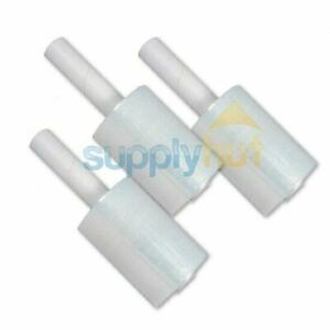 5 In X 1000ft 80 Gauge Extended Core Stretch Shrink Film Hand Wrap 6 Rolls Roll
