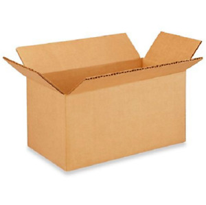 50 8x4x4 Cardboard Paper Boxes Mailing Packing Shipping Box Corrugated Carton