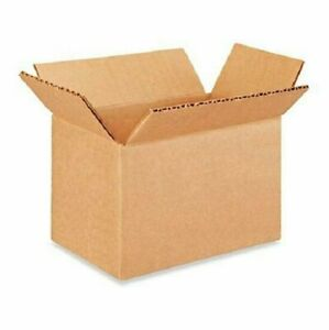 50 6x4x4 Cardboard Paper Boxes Mailing Packing Shipping Box Corrugated Carton