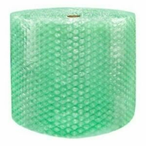 1 2 Sh Recycled Large Bubble Cushioning Wrap Padding Roll 125 X 24 Wide 125ft