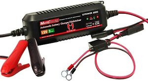 Smart Automatic Battery Charger Maintainer 12v Lead Acid Lithium Ion Batteries