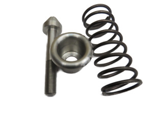 1941 51 Ford Car Hood Latch Dowel Spring And Guide Stainless 11a 16925 27 Kt