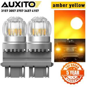 Auxito 3157 3457 3757 4057 4157 Amber Led Front Turn Signal Light Bulb 3155 3357