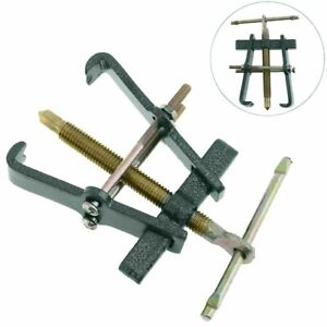 2 Jaw Gear Puller Mechanic Bearing Steering Wheel Remover Extractor Tool Car