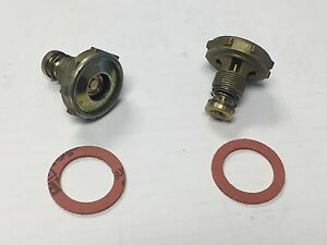 2 Holley 5 0 High Flow Power Valve W Gasket 2300 4150 4160 4500 Carburetors