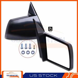 Compatible With 1988 1999 Chevy Gmc Pickup Truck Set Of Mirrors Manual Non Fold