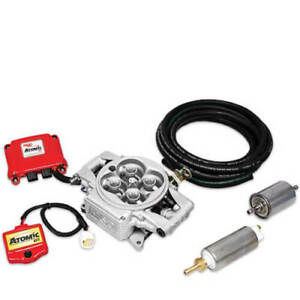 Msd 2900 Atomic Efi Fuel Injection Kit W Electric Fuel Pump Supports 525 Hp Max