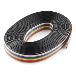 Ribbon Cable 10 Wire 15ft