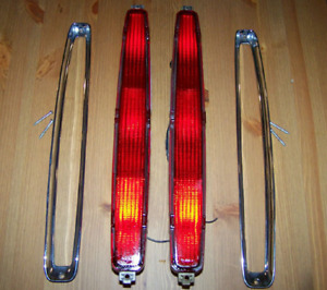 89 93 Cadillac Deville Hot Rod Tail Lights
