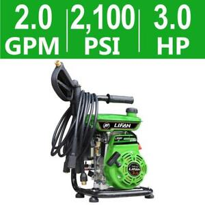 2 100 Psi 2 0 Gpm Ar Axial Cam Pump Recoil Start Gas Pressure Washer