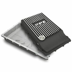 Ppe Brushed Aluminum Transmission Pan 2018 Ford Mustang With 10r80 Transmission