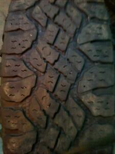 Lt275 65r18 Goodyear Wrangler Duratrac Used 275 65 18 123 Q 8 32nds