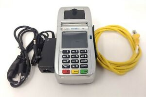 unlocked First Data Fd130 Duo Credit Card Machine With Power And Ethernet