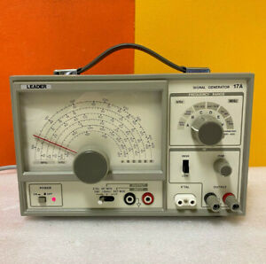 Leader 17a 6 range 100 Khz To 150 Mhz Signal Generator Tested