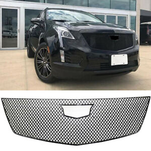 Cover Grille For 2017 2020 Cadillac Xt5 Grill Trim Guard Gloss Black Abs Painted