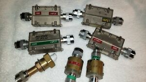 1 Lot Of Assorted Rf Microwave High Pass Filters 300 Khz 30 Mhz Others