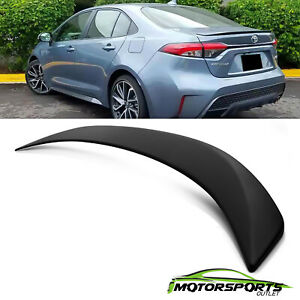 For 2020 2021 Toyota Corolla Painted factory Style Rear Flush Mount Spoiler