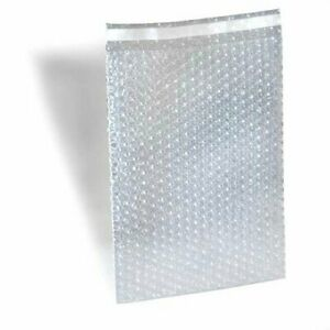 600 Pack 8 X 15 5 Clear Bubble Out Pouches Cushion Shipping Protective Wrap