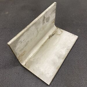 1 4 Thickness 304 Stainless Steel Angle 0 25 X 4 X 4 X 8 Length