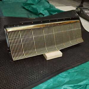 Buick Regal Grille 24 Kt Gold Plated
