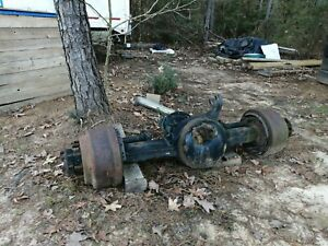 Complete Rear End Differential Eaton 2006