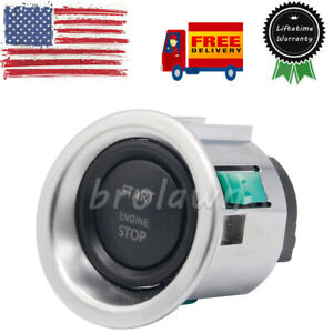 For Range Rover L322 Engine Start Stop Switch Keyless Ignition Button 2010 2012