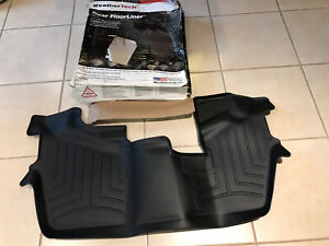 Weathertech Floorliner For Honda Pilot 8 Passenger 2016 2019 3rd Row Black