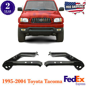 Front Bumper Bracket Fender Apron Brace Left Right For 1995 2004 Toyota Tacoma
