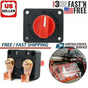 Car Auto Truck Boat Camper 12v 300a Battery Isolator Disconnect Cut Off Switch