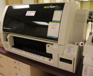 Instrumentation Laboratory Acl Top500 Cts Coagulation Analyzer W Computer