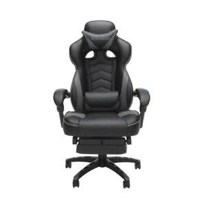 Respawn 110 Racing Style Gaming Chair Reclining Ergonomic Leather Chair With Fo