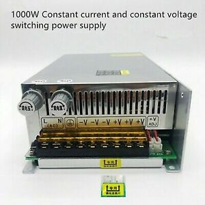 220v Ac To Dc 0 48v 1000w 20a Switch Power Supply Voltage And Current Adjustable
