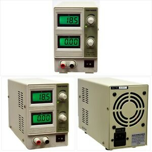 Tekpower Tp1803d Lab Grade Variable Linear Dc Power Supply 0 18v 0 3a With Alli