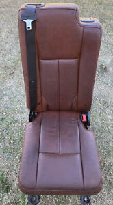 07 17 King Ranch Lincoln Navigator Ford Expedition 2nd Row Middle Jump Seat Oem