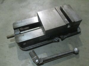 Used D675 Kurt 6 Milling Machine Vise With Handle dp