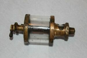 Rare Vintage American Lubricator Co Brass Oiler Hit Miss Gas Engine Lub r
