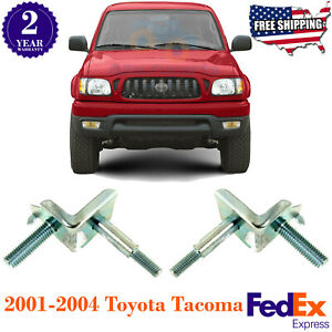 Front Bumper Bracket Side Mounting Right Left For 2001 2004 Toyota Tacoma