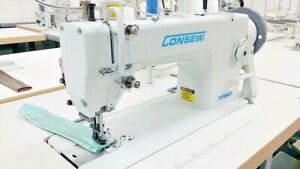 Consew P1206rb 1 Upholstery Walking Foot Sewing Machine With Table Servo Motor