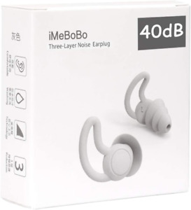 Fishstar Reusable Safe Silicone Earplugs Noise Cancelling Ear Plugs For Sleep