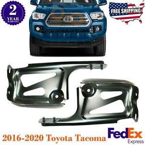 Front Bumper Mounting Bracket Steel Left Right For 2016 2020 Toyota Tacoma