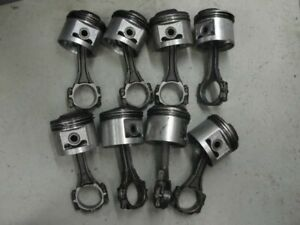 Buick 401 Nailhead Connecting Rods 030 Pistons Used Riviera Wildcat Electra