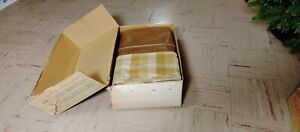 Nos Vintage 1950s 1960 s Seat Covers Chevy Plymouth Cadillac Ect Split Back
