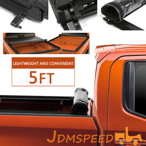 5 Bed Roll Up Low Profile Truck Cover Access For 2019 2020 Ford Ranger