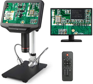 Hdmi Digital Microscope Linkmicro 7 Inch Hd Lcd Screen 270x Magnifier With Real