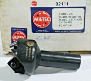 Mil tec 02111 7 8 90 Indexable Countersink Chamfer Tool D448