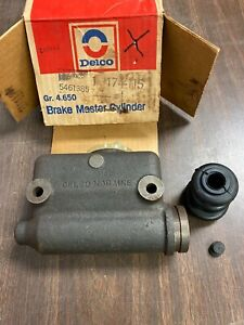1953 1954 1955 1956 Ford Truck F250 F600 Brake Master Cylinder Nos Delco 1220