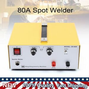 80a Jewelry Fast Welding Machine Electric Welder Tool W Foot Pedal accessories